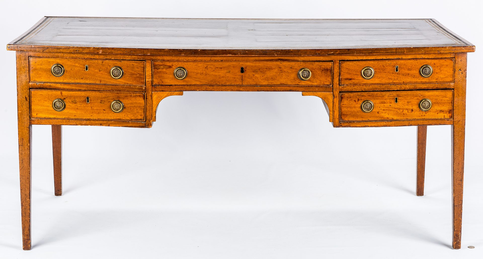 Lot 438: Early Regency Mahogany Writing Table