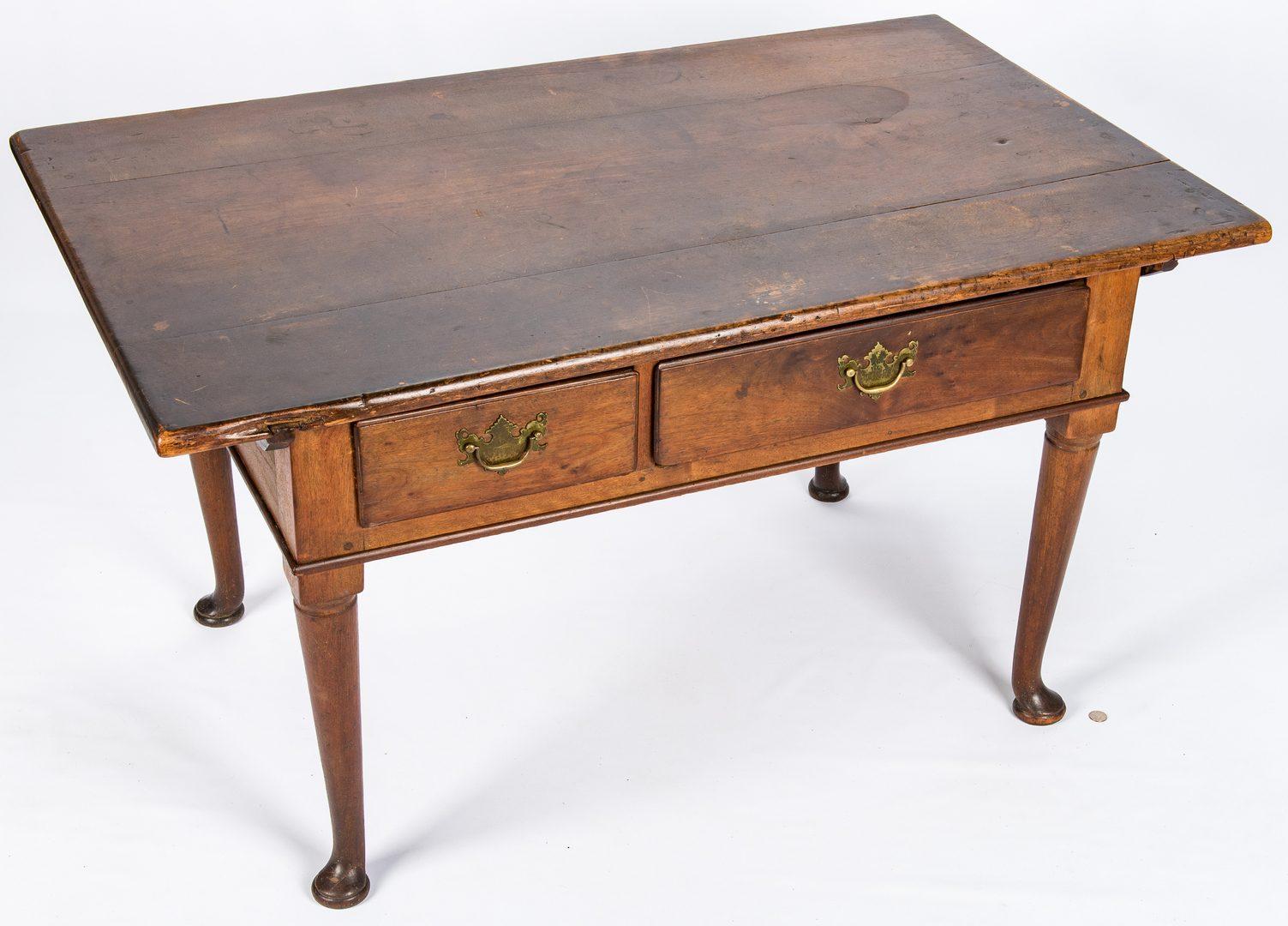 Lot 451: Queen Anne Work Table, poss. VA