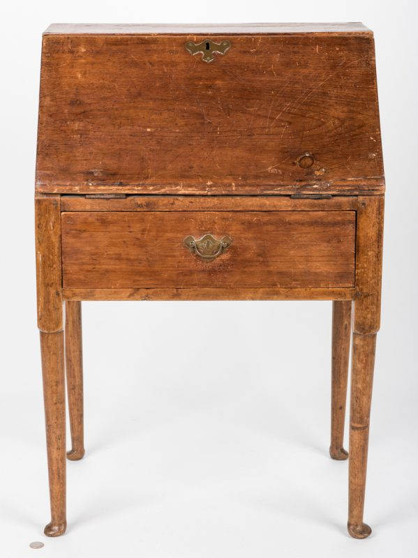 Lot 452: Queen Anne Child's Desk