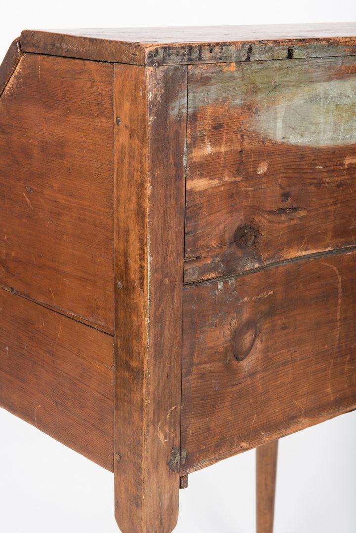 Lot 452: Queen Anne Child's Desk