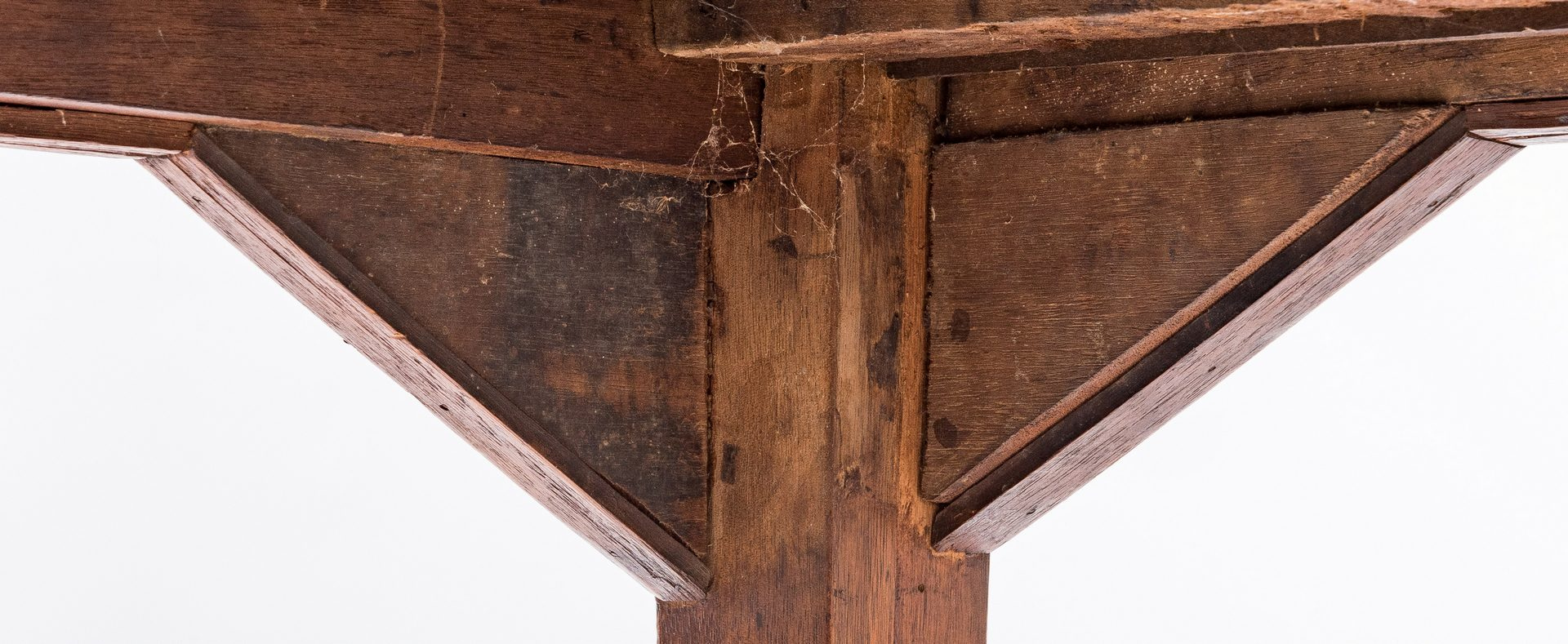 Lot 456: East TN Inlaid Hepplewhite Walnut Sideboard