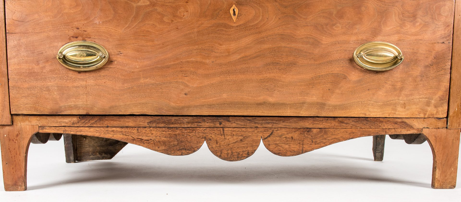 Lot 458: East TN Walnut Chest of Drawers