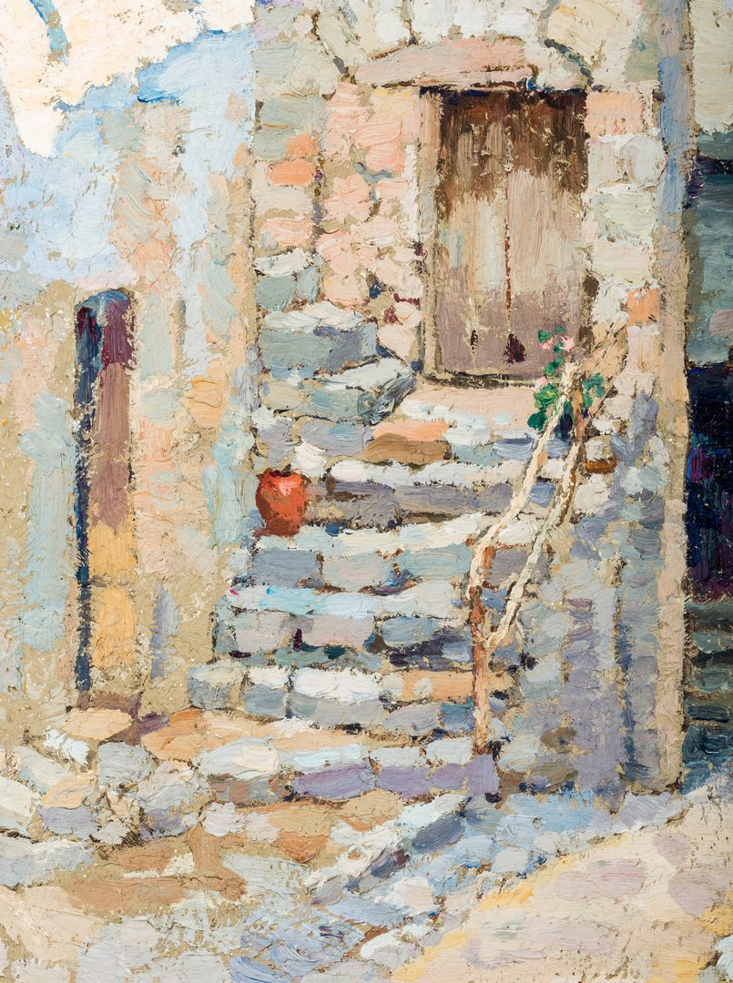 Lot 475: Harry Lachman, Sunlight and Shadows oil