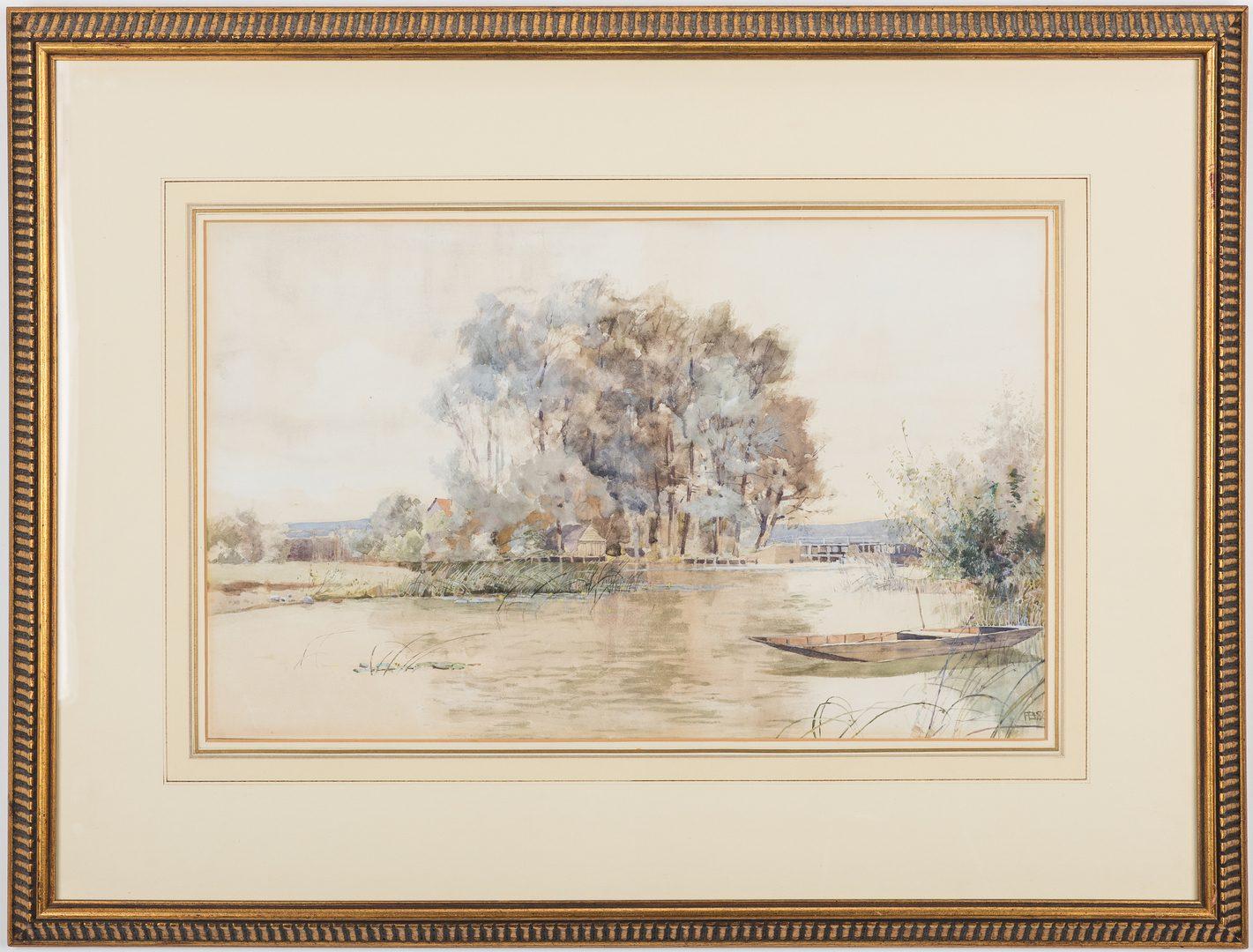 Lot 479: Frank Brangwyn W/C, Grey Period