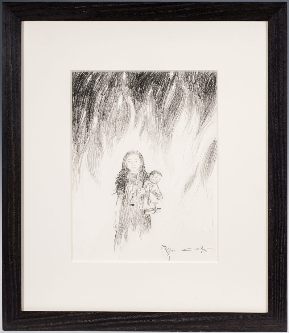 "Lot 485: Jamie Wyeth Signed Drawing from ""Kingdom Hospital"""