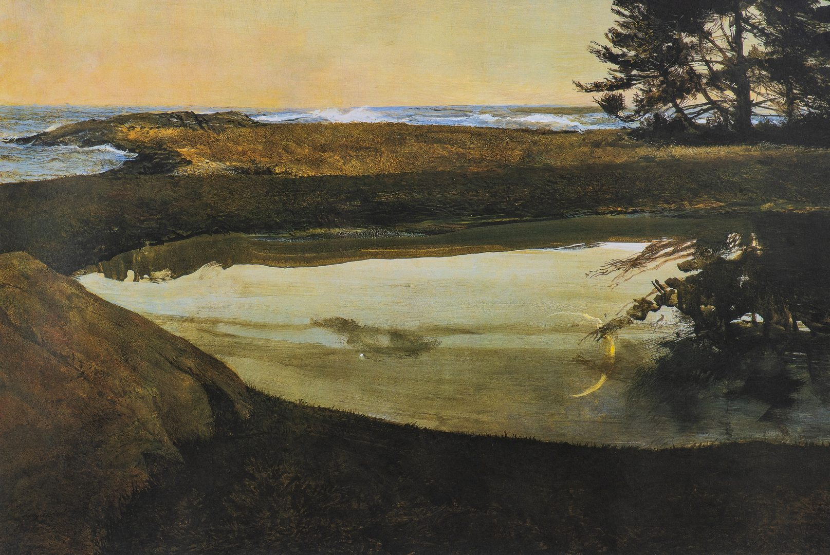 Lot 487: Andrew Wyeth Signed Print, Jupiter