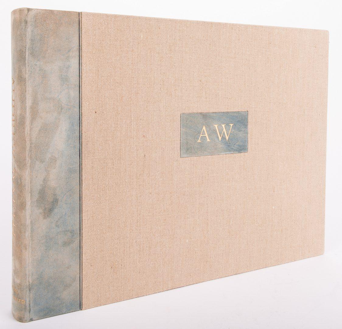Lot 488: Ltd. ed. Wyeth Book, Artist Signed