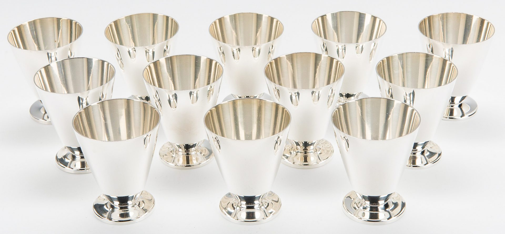 Lot 48: Tiffany & Co. Sterling Cordials; Mug