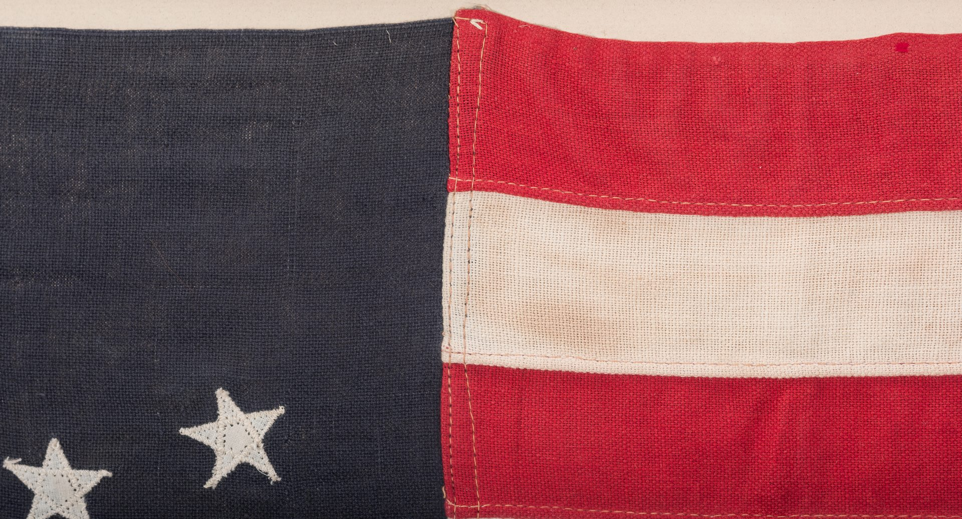 Lot 493: 15 Star Kentucky Statehood Commemoration Flag