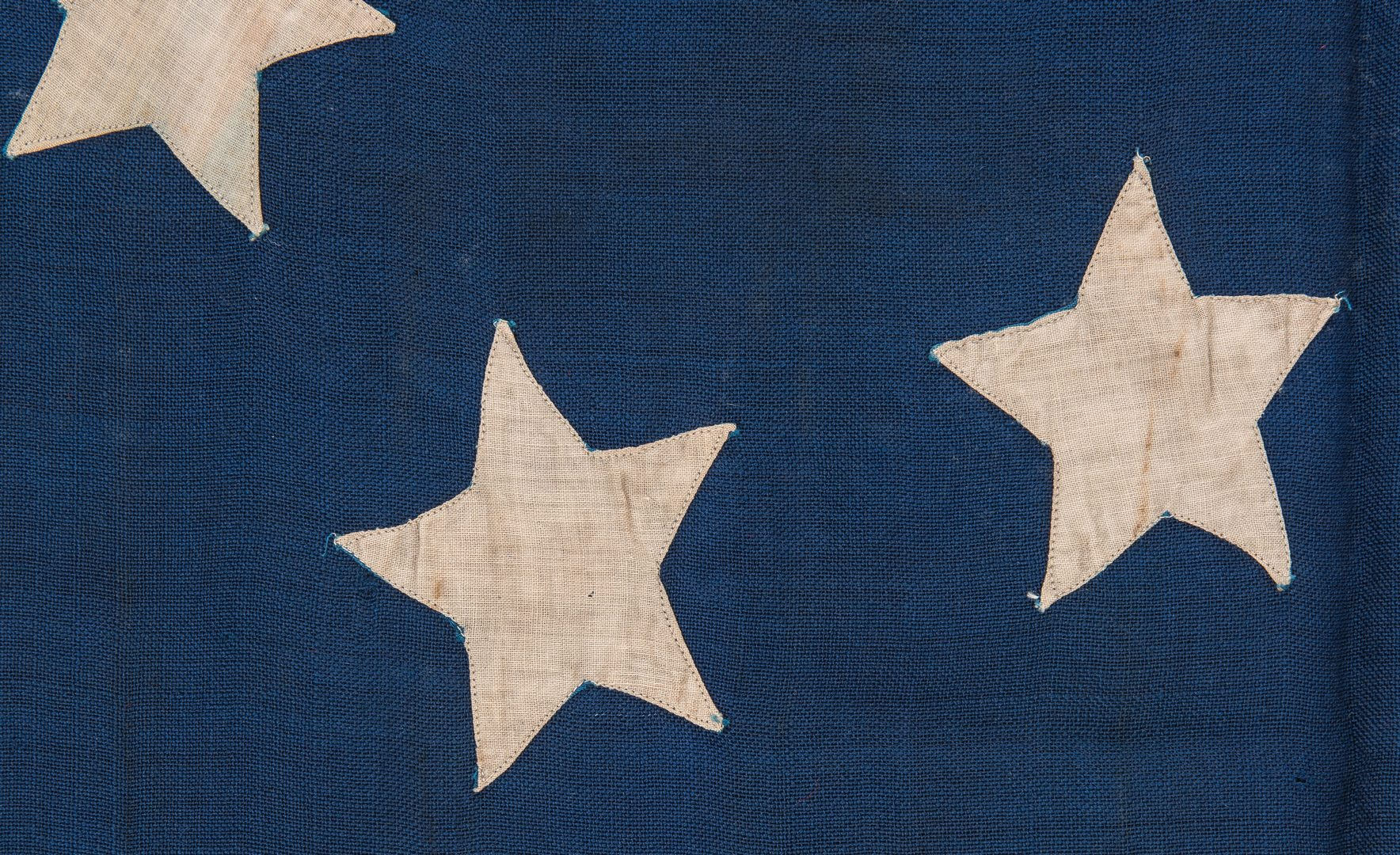 Lot 495: Confederate Reunion First National Flag, 7 Stars