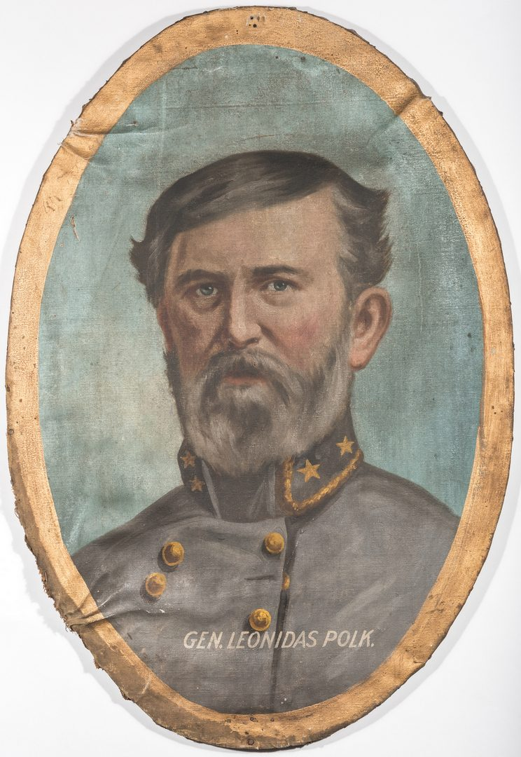 Lot 498: Lawrence T. Dickinson, O/C, General L. Polk