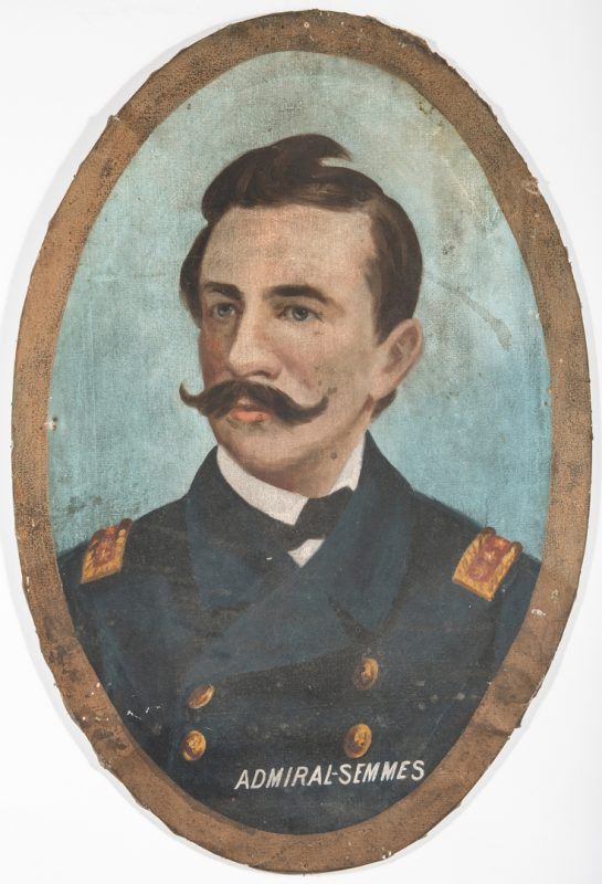 Lot 499: Lawrence T. Dickinson, O/C, Admiral R. Semmes
