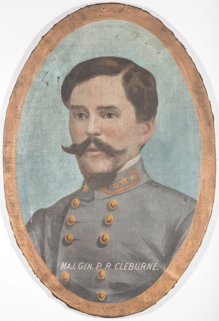 Lot 500: Lawrence T. Dickinson, O/C, General P. R. Cleburne