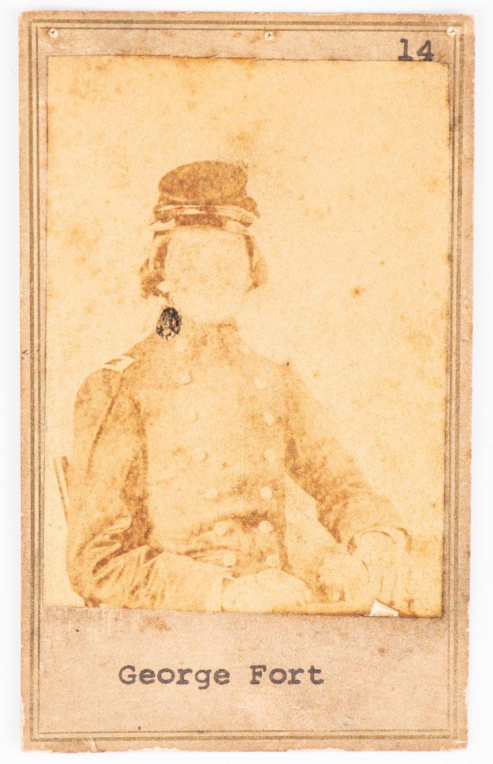Lot 511: Dr. George W. Fort, CSA Surgeon Sewing Kits w/CDV