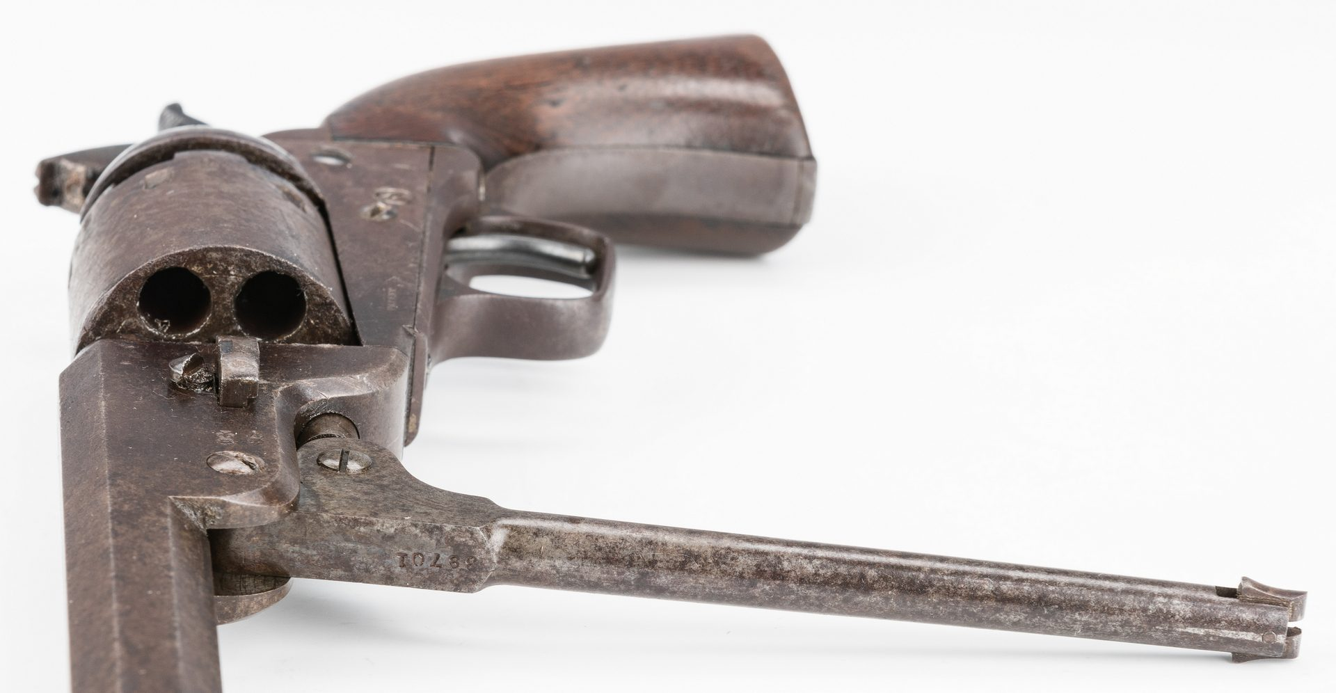 Lot 512: Colt 1851 Navy London Model Revolver, James Nelson III, Morgan's Raiders