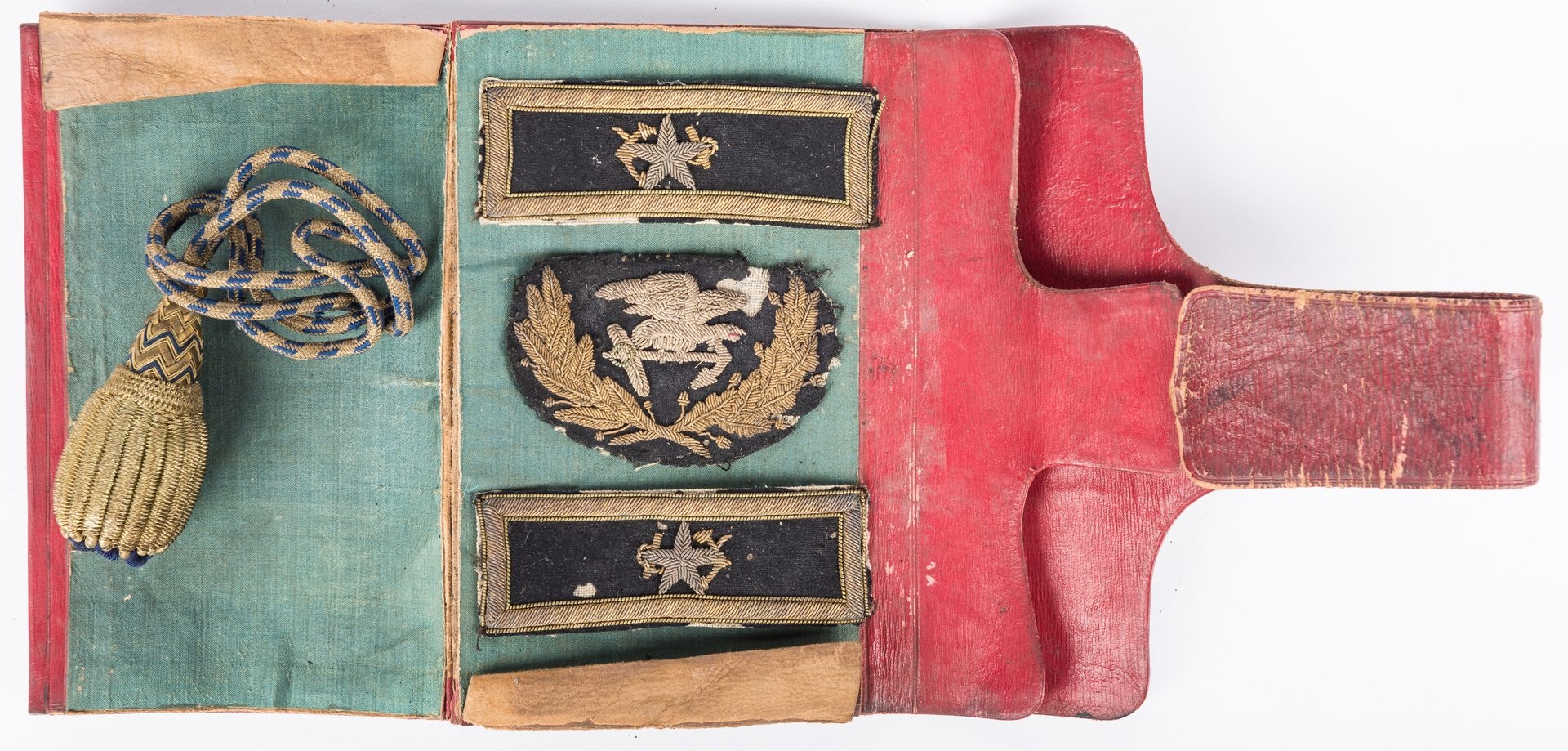 Lot 515: Hugh Young Purviance Naval Uniform Accessories & more, 6 items