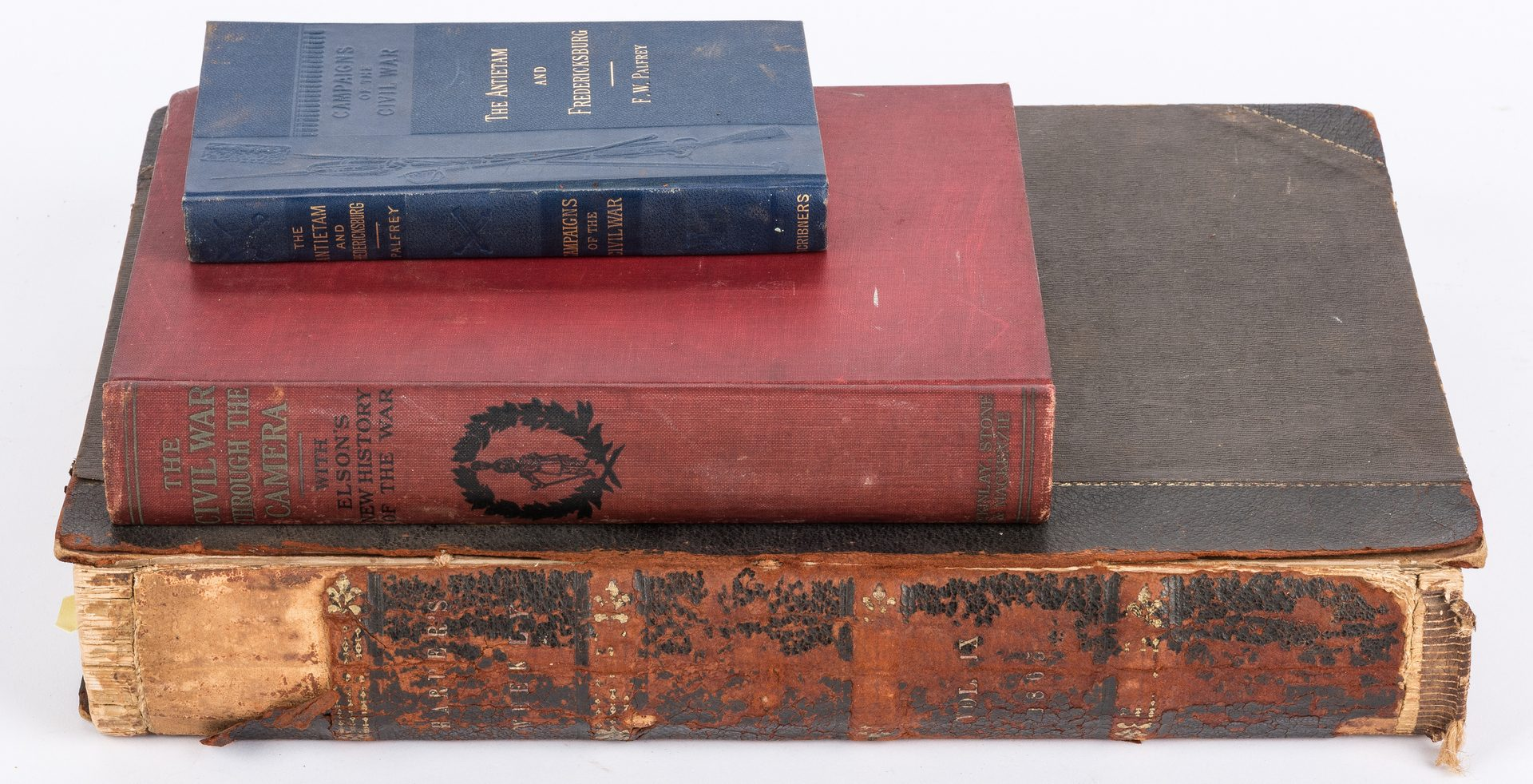 Lot 517: 16 items related to Civil War Engineer Charles Harrod Boyd, inc. lap desk