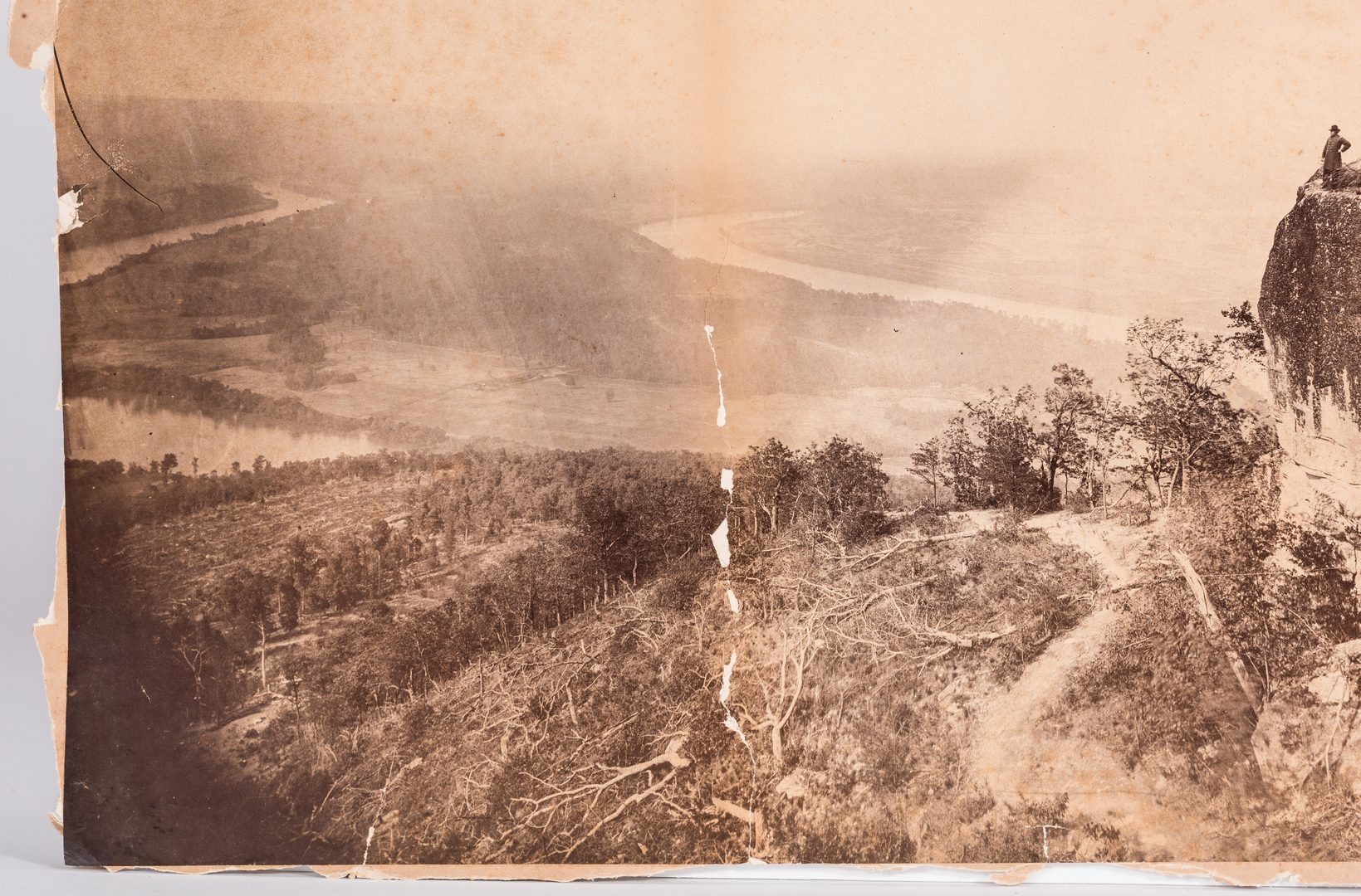 Lot 518: 4 Civil War Photos, Chattanooga, C.H. Boyd