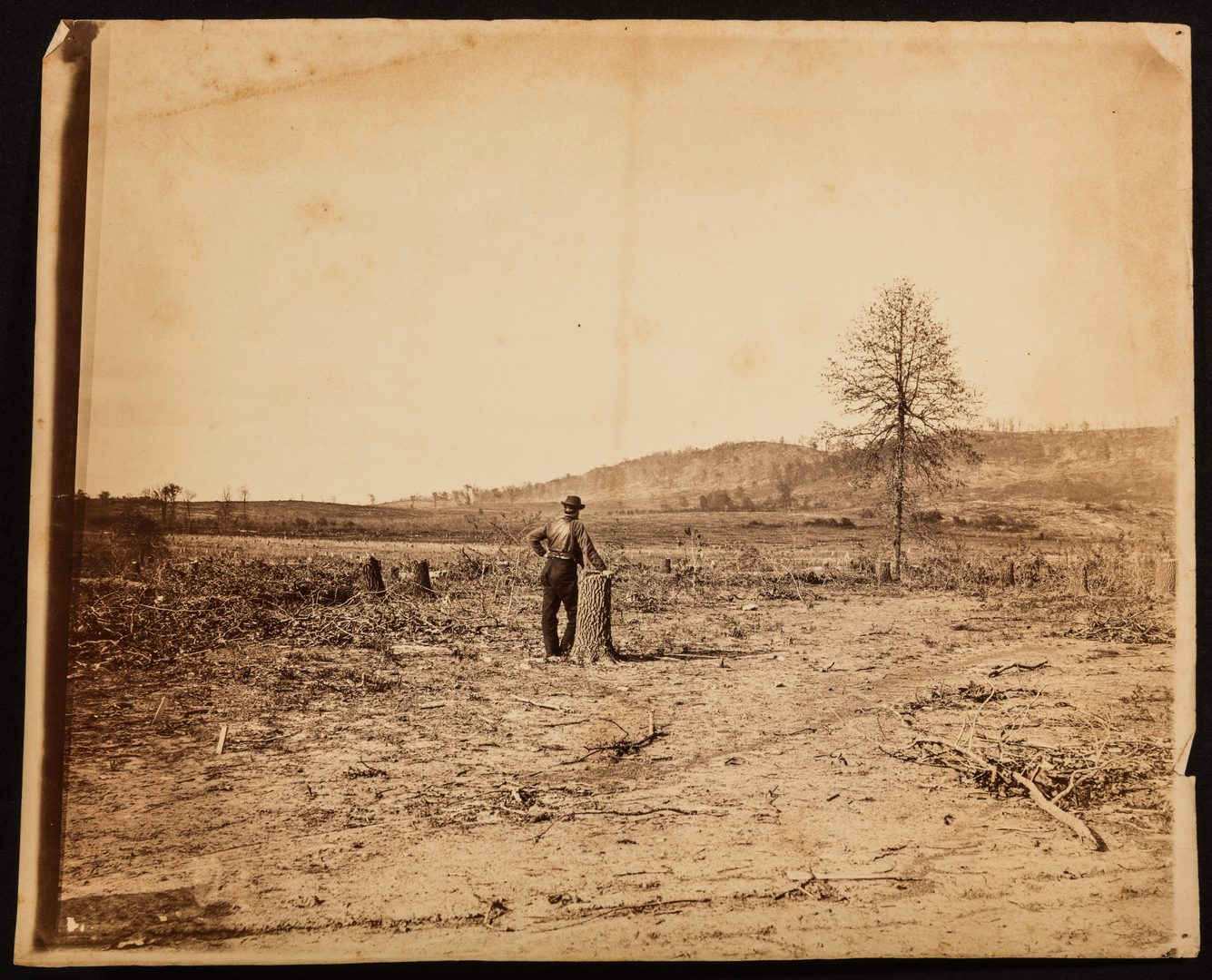 Lot 520: 6 C.H. Boyd Civil War Photographs, Chattanooga and Mission Ridge