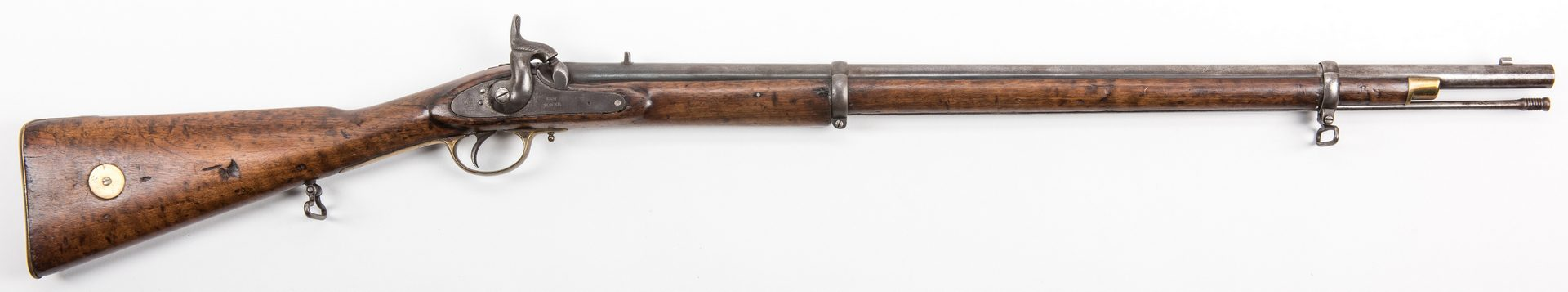 Lot 522: Civil War 1853 Pattern Rifled Enfield Tower Rifle