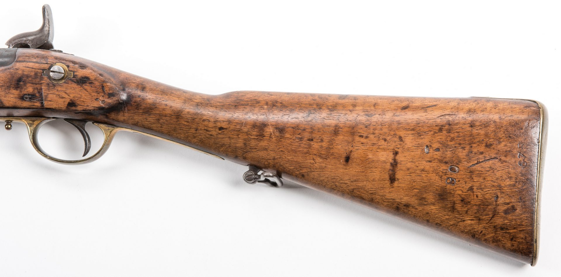 Lot 522: Civil War 1853 Pattern Rifled Enfield Tower Rifle
