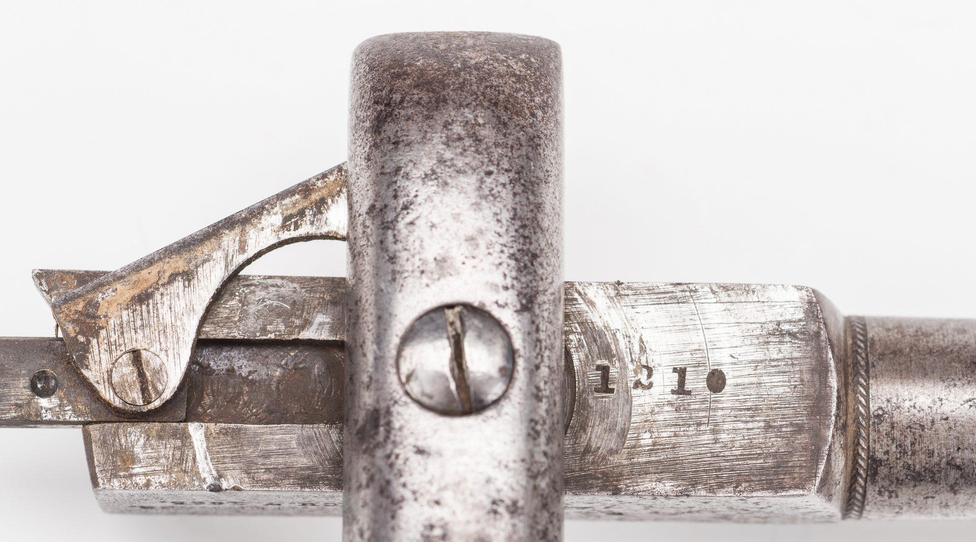 Lot 526: 3 Civil War era items, inc. Ethan Allen Pistol