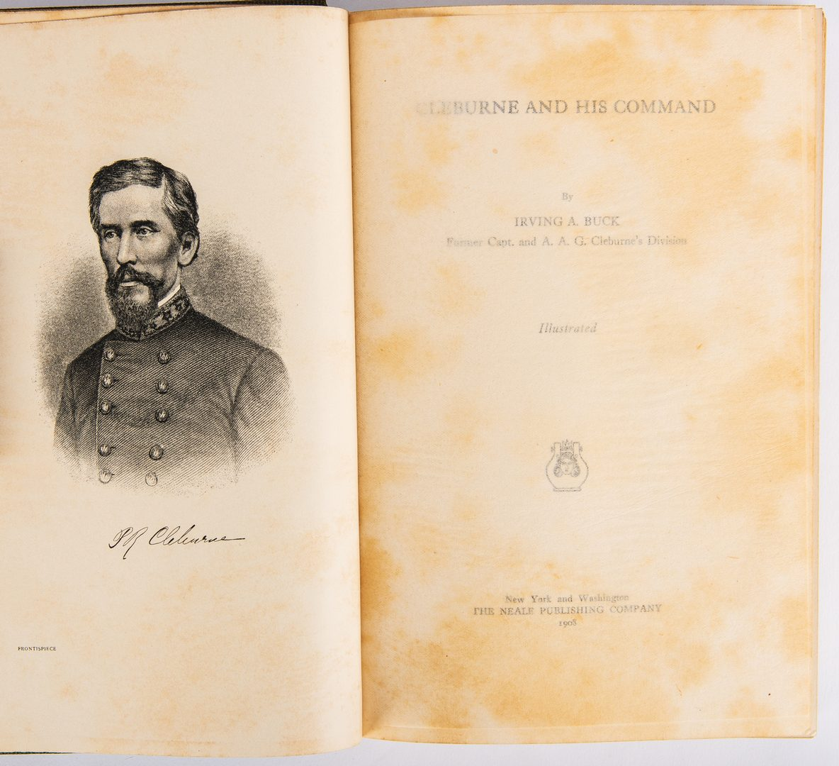 Lot 539: 4 Civil War Related Books, inc. 1st Ed. Cleburne's Command