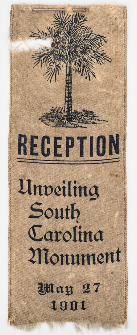Lot 540: 4 South Carolina UCV items, inc. Chickamauga