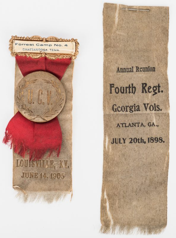 Lot 543: 2 UCV Reunion Ribbons