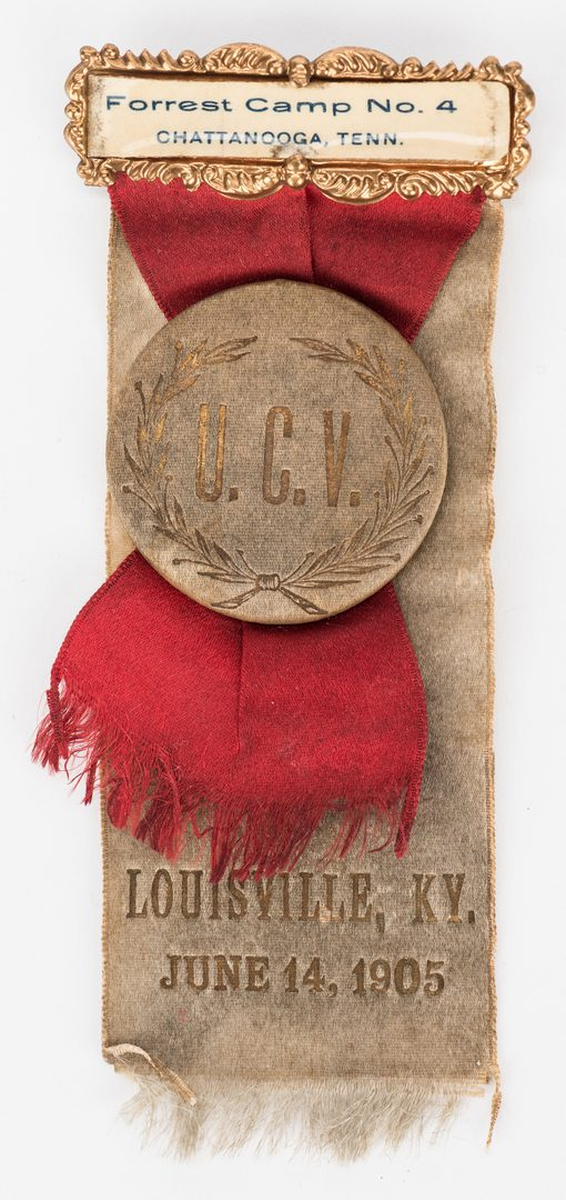Lot 543: 2 UCV Reunion Ribbons