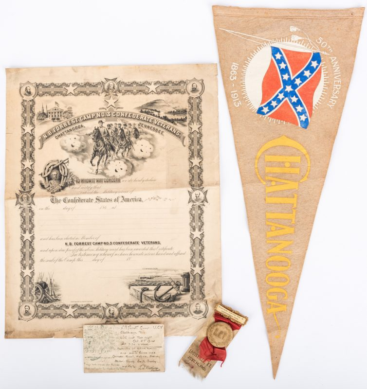 Lot 544: 4 Chattanooga, TN UCV items