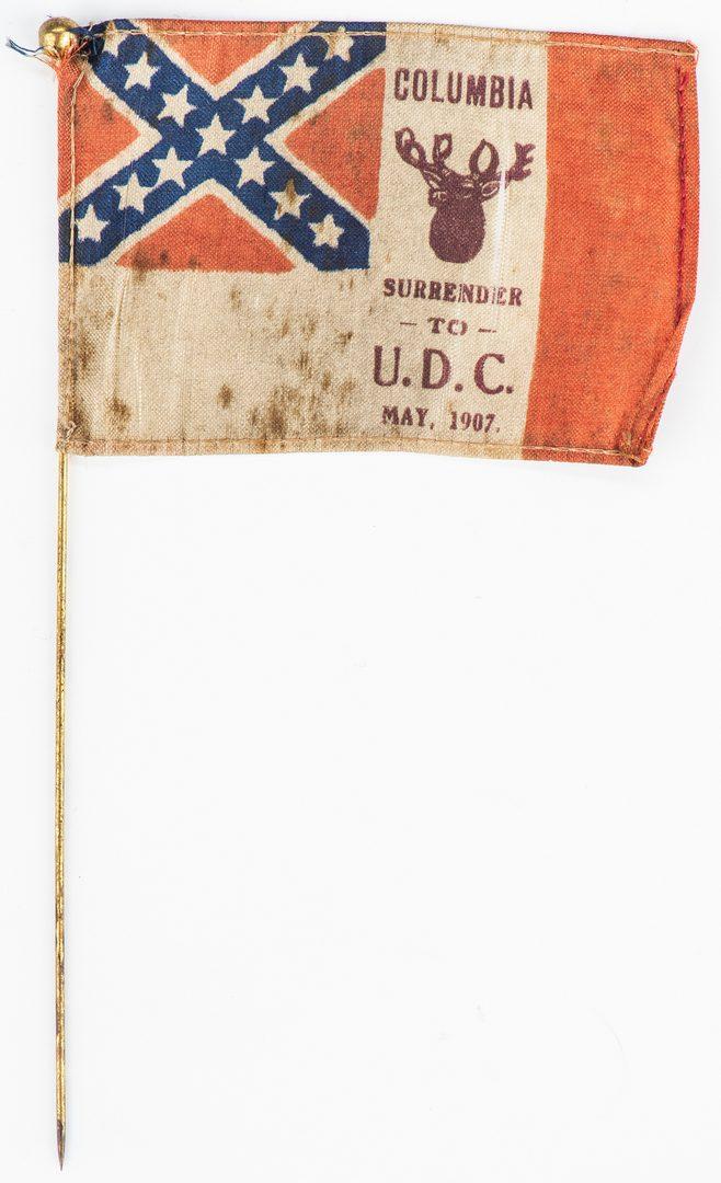 Lot 548: 5 UDC & UCV items, inc. Miniature Canteen