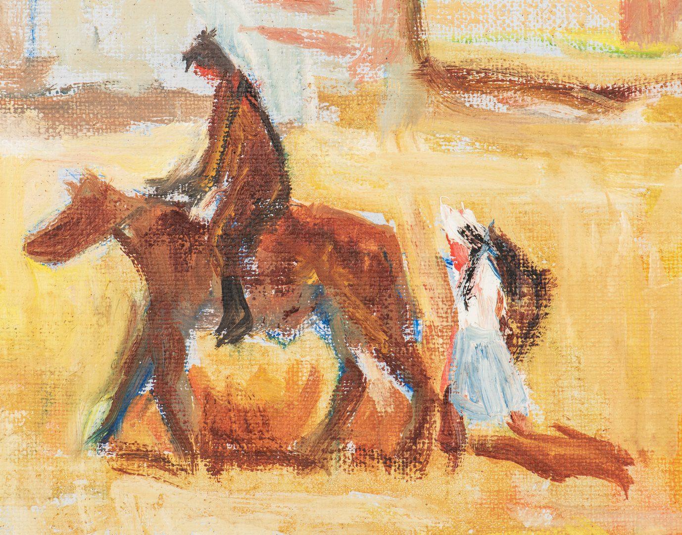 Lot 566: Harry Shaw Oil on Canvas Arizona Scene