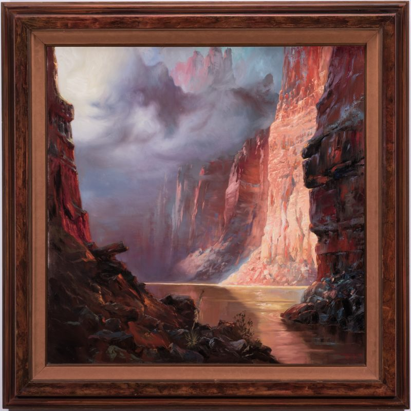 Lot 567: Stephen Juharos, O/C, Grand Canyon