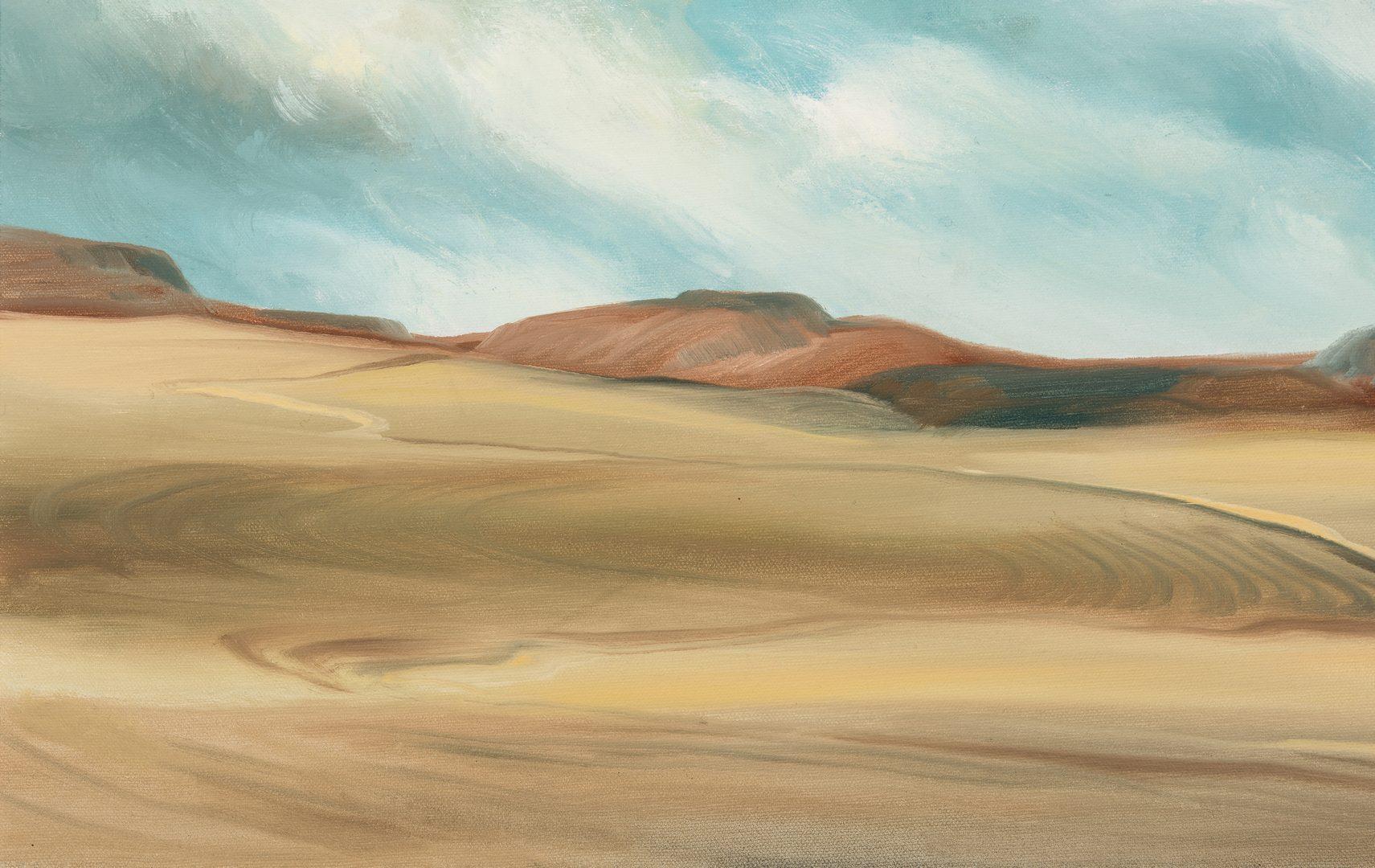 "Lot 568: C. Kermit Ewing, O/C, ""South of Taos"""