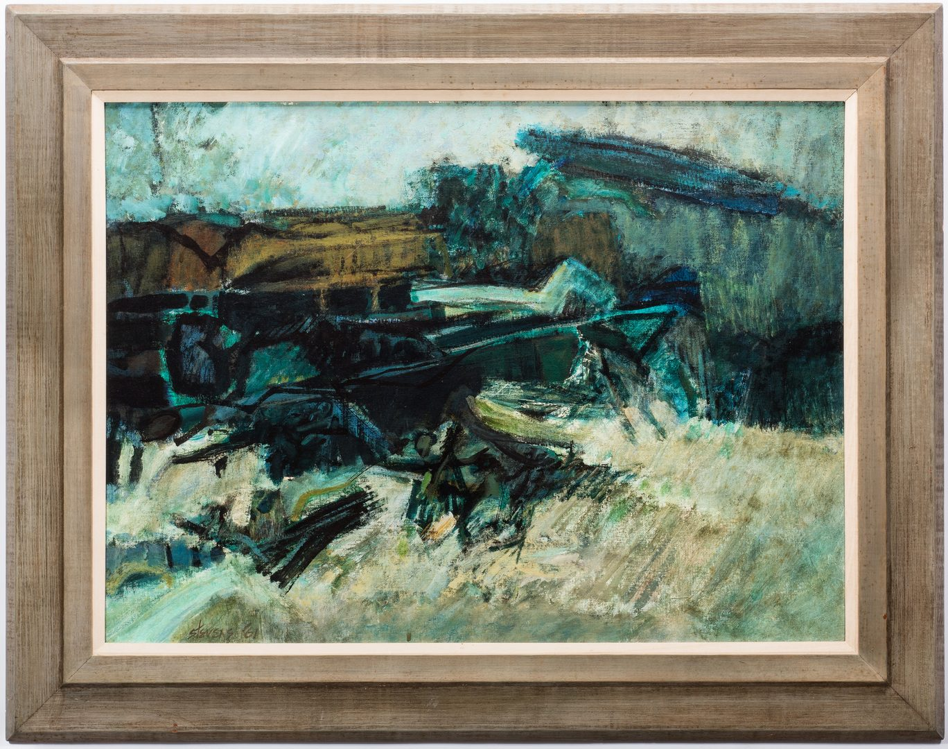 "Lot 569: Walter Hollis Stevens, ""Ramsey Ridge"""