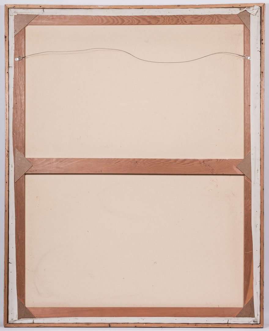 Lot 571: Large George Cress, O/C, Abstract Painting