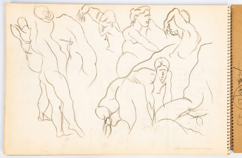 Lot 575: Joseph Delaney Sketchbook