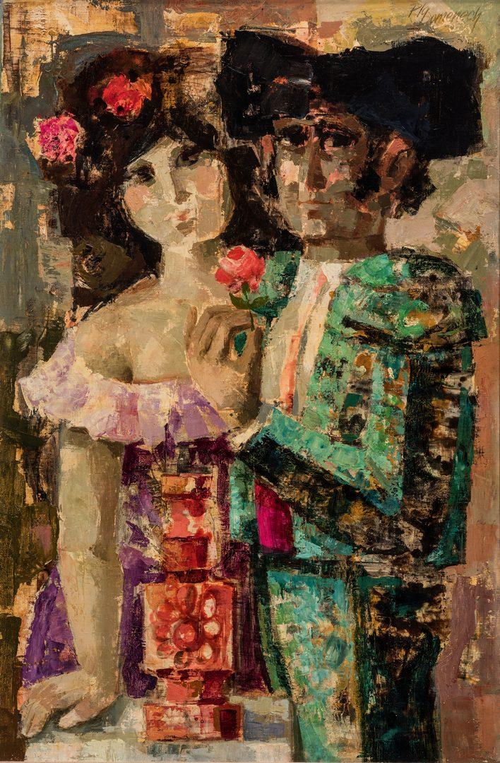 Lot 592: Jordi Pia Domenech – Matador & Lady