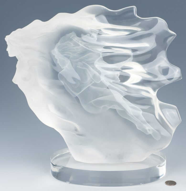 "Lot 595: Frederick Elliot Hart Sculpture ""Spirita"""