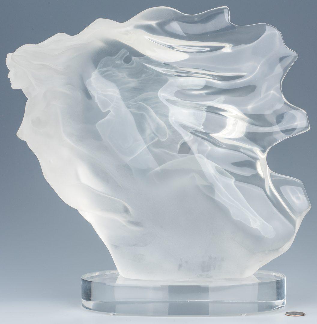 "Lot 595: Frederick Elliot Hart Sculpture ""Spirita"""