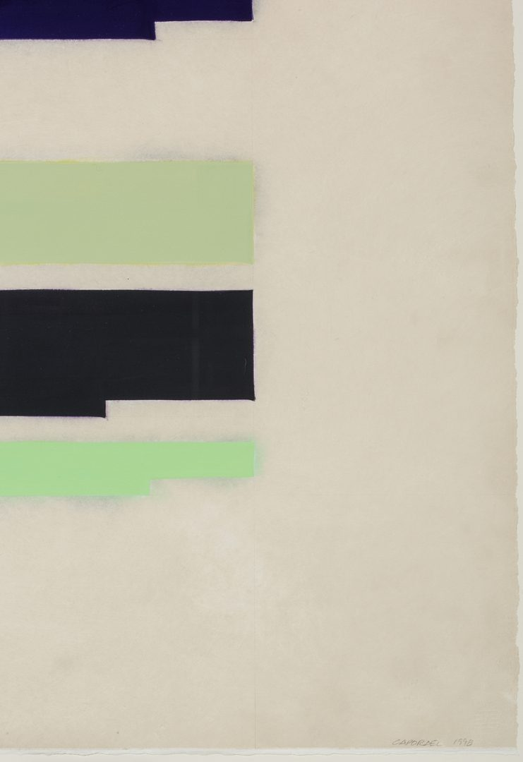 Lot 597: Pair Suzanne Caporeal Works on Paper