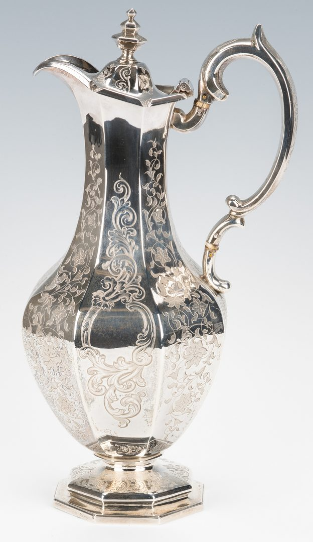 Lot 59: Scottish Sterling Decanter or Wine Jug