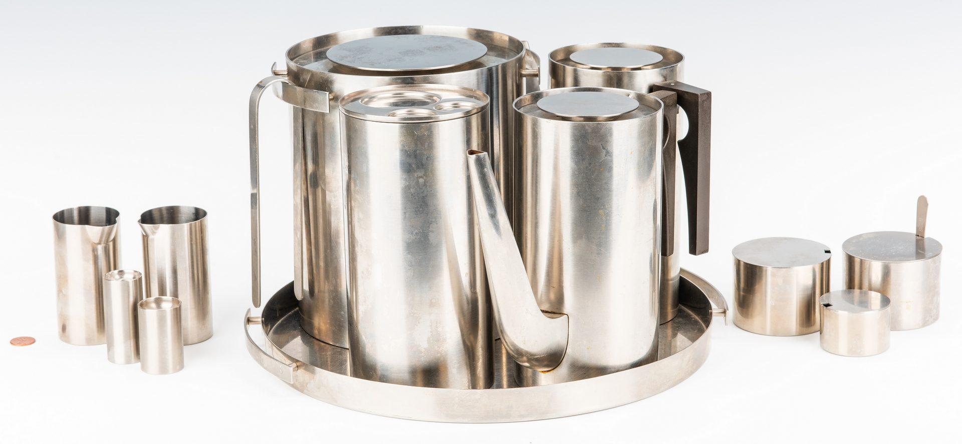 Lot 600: Mid-Century Arne Jacobsen Cylinda-line Group