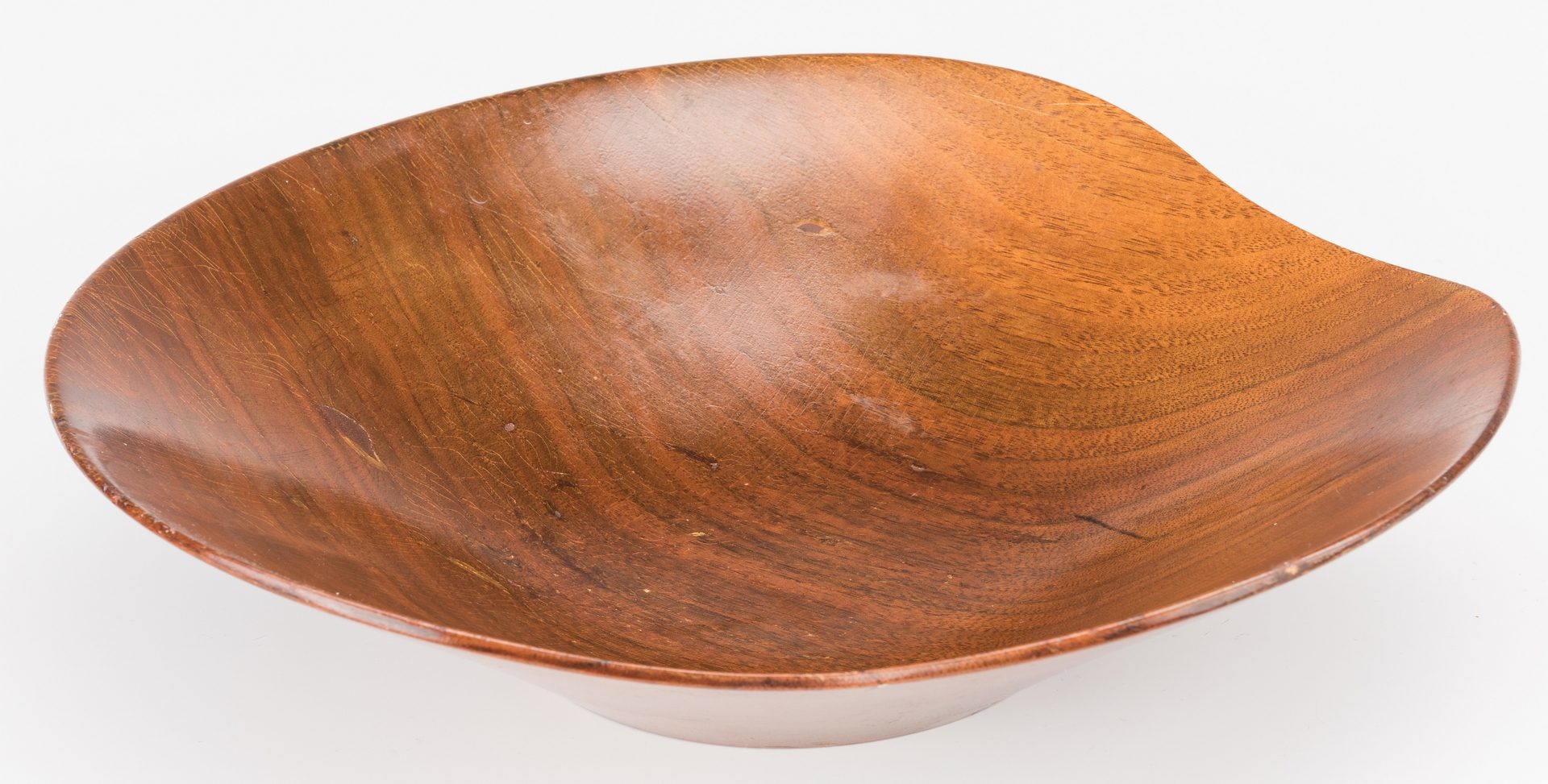 Lot 601: Rude Osolnik Walnut 9-pc Bowl Set