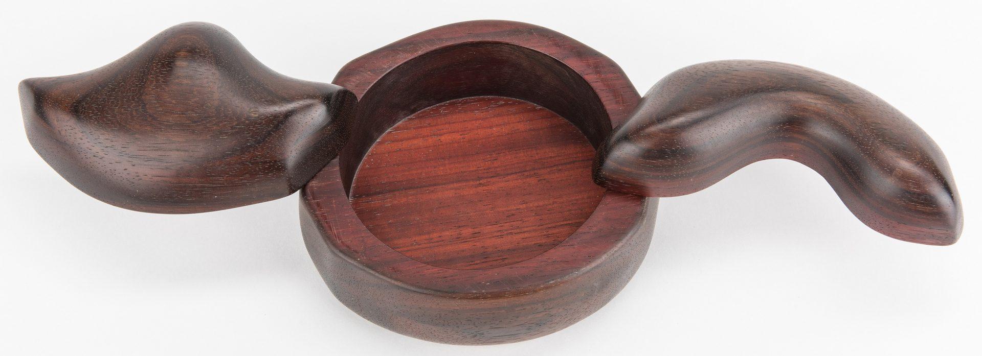 Lot 602: Bobby Falwell Modernist Carved Box