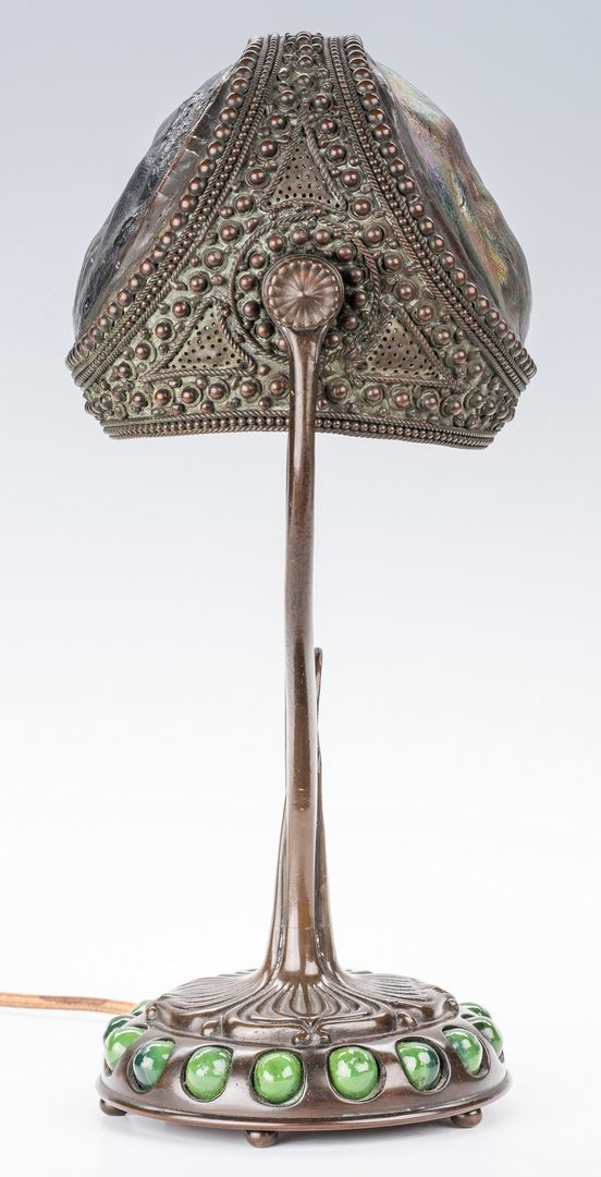 Lot 611: Tiffany Studios Turtleback Desk Lamp