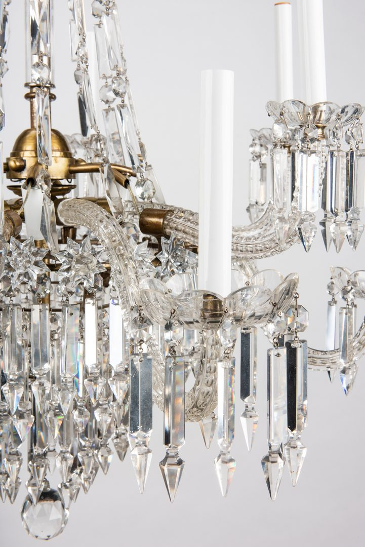 Lot 619: Neoclassical Style Chandelier, ex-DAR Museum