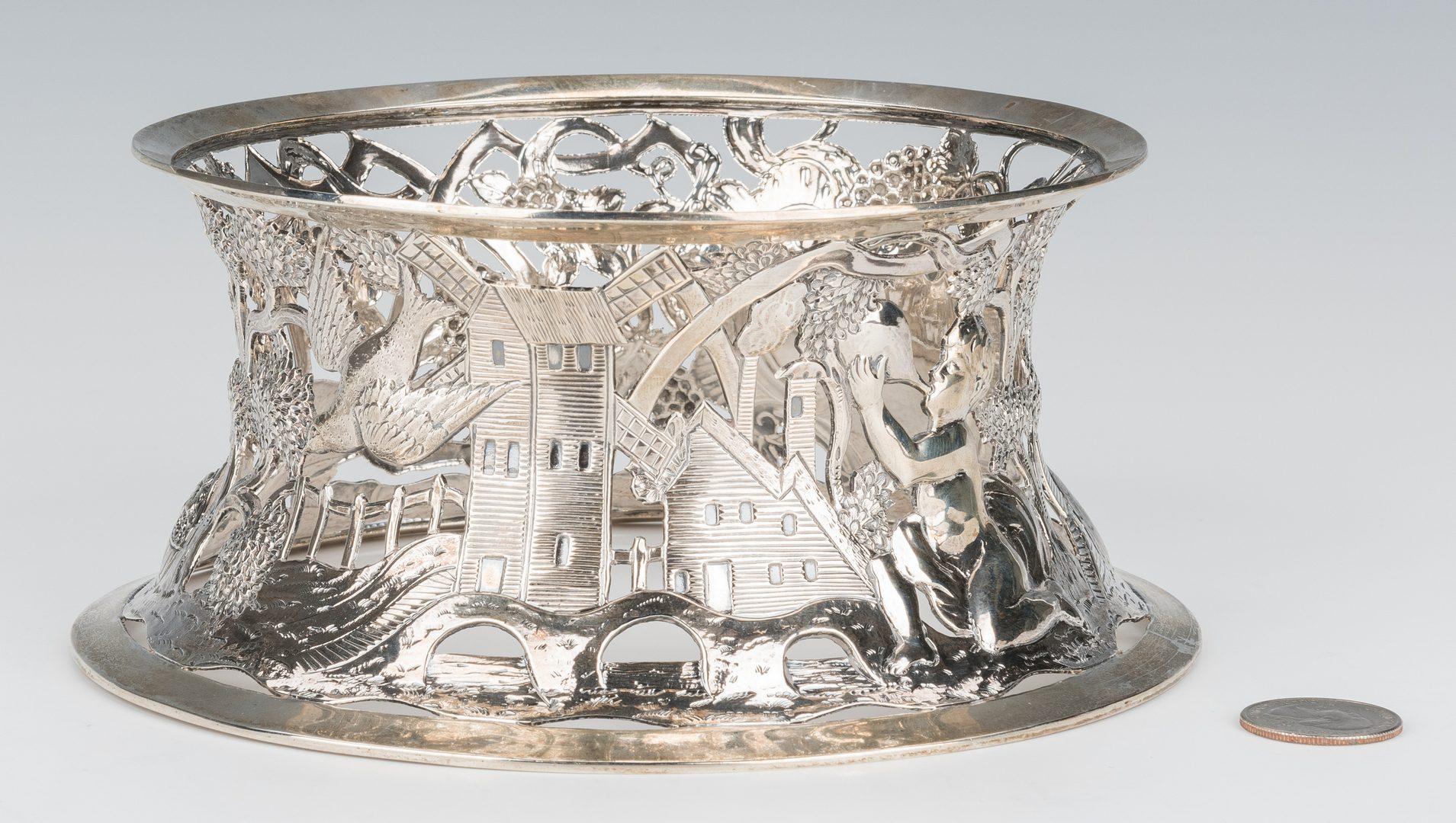 Lot 63: Irish Sterling Silver Dish Ring