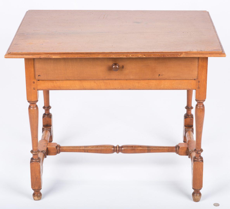 Lot 650: New England Maple Tavern Table